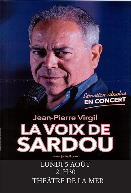 Concert: Virgil sings Sardou