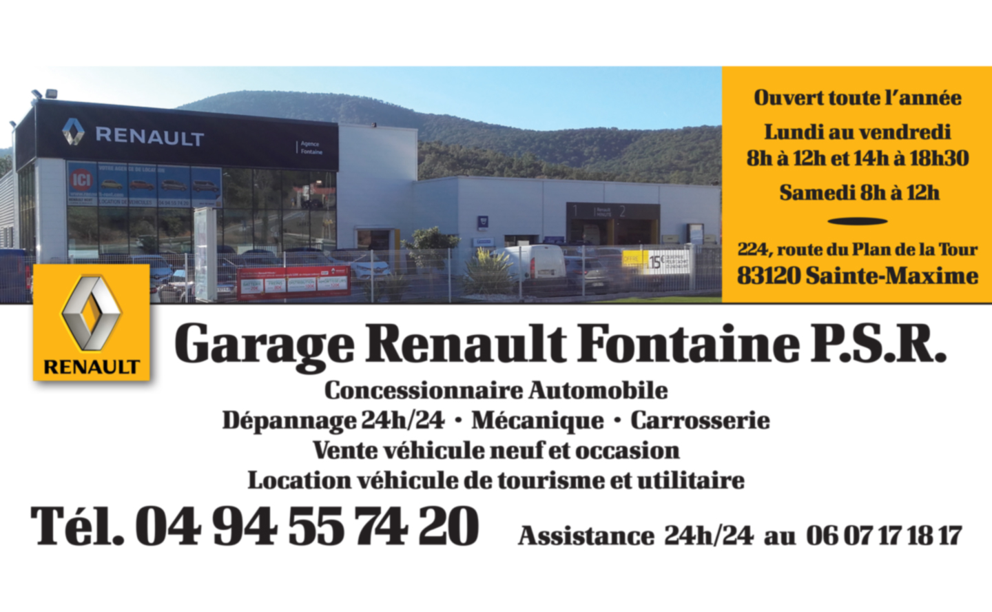Garage renault fontaine p s r for Garage renault 94
