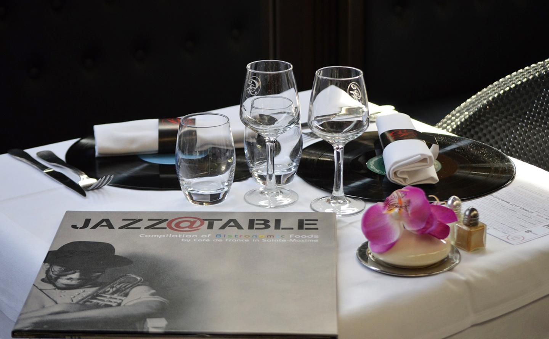 Soirées Jazz à table